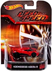 Hot Wheels Retro Series 2014 Need For Speed Koenigsegg Agera R Die-Cast Toy Car