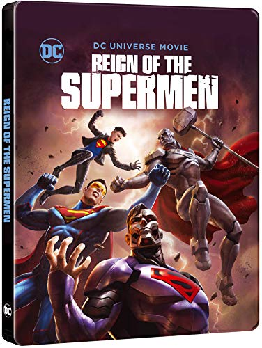 Reign of the Supermen Steelbook [Blu-ray] [2018]