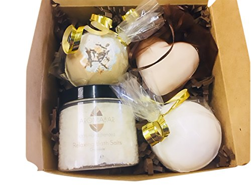 Schokolade LUXUS Badebombe Pamper Box Geschenk Set