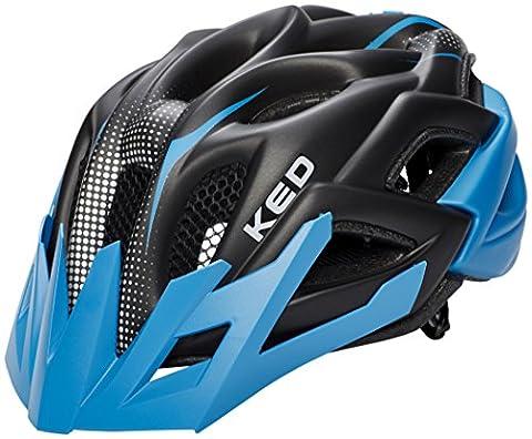KED Status Helmet Junior Blue Black Matt Kopfumfang 52-59 cm 2017 mountainbike helm downhill