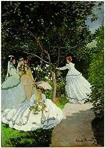Editions Ricordi 6001N33013 - Puzzle de 2000 Piezas del Cuadro  Mujeres en el jardín de Monet
