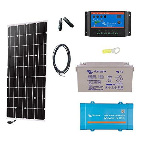 Kit solaire autonome 230v - 100w mono