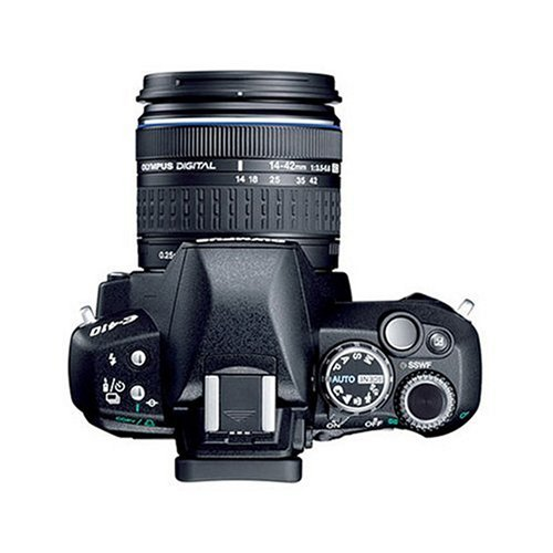 Olympus E-410 SLR-Digitalkamera (10 Megapixel, LifeView) Double Zoom Kit inkl. EZ1442 und EZ4015 - 3