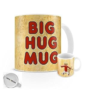 Big Hug Mug - 11oz - White - By CREA8MEDIA (C)