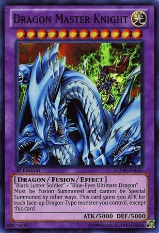 Yu-Gi-Oh. – Dragon Master Knight (lcyw-en050) – Legendary Legendary Legendary Collection 3&8239;: yûgi édition du monde – Unlimited – Super Rare par Yu-Gi-Oh. | Une Performance Fiable