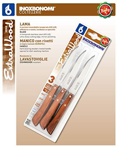 Zoom IMG-2 bonomi set 3 coltelli in