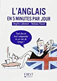Petit Livre de - L'anglais en 5 minutes par jour...