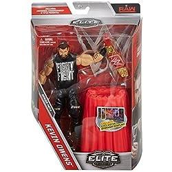 WWE serie Elite 47 Action Figure - Kevin Owens W/ Rosso Universale Campionato Cintura