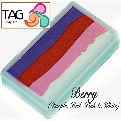 (TAG Body Art Split cakes - 4 Farb Beere (50 gm) [Spielzeug])