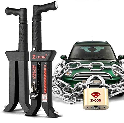 SUO CSCR Auto-Sicherheitsschloss Diebstahlsicherung Hohe Sicherheit Für die Fahrzeugsicherheit Für Bremse/Kupplung/Gas Universal Auto-Sperre,V15