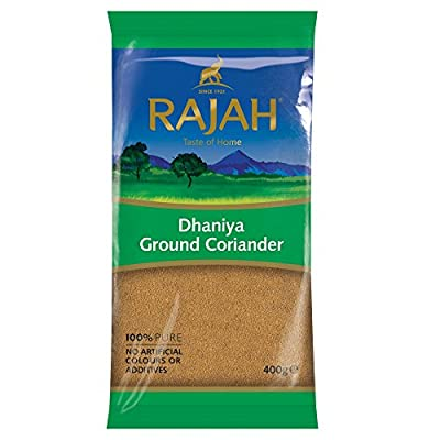 Rajah Dhaniya Ground Coriander, 400 g by Rajah