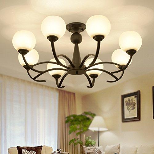KHSKX Einfache runde Deckenleuchte LED Deckenleuchte Schlafzimmer ...