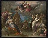 Das Museum Outlet–Hans von Aachen–Das Staunen der Götter–Poster Print Online kaufen (101,6x 127cm)
