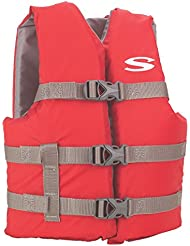 STEARNS CLASSIC YOUTH LIFE JACKET 50-90 LBS RED