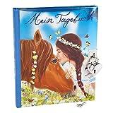 Miss-Melody-Tagebuch-mit-Stickern-Motiv-1-Pferd-u-Mdchen-6367