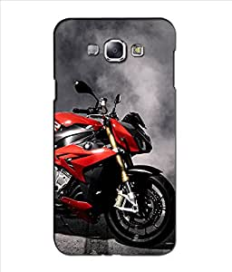 Crazymonk Premium Digital Printed 3D Back Cover For Samsung Galaxy A8