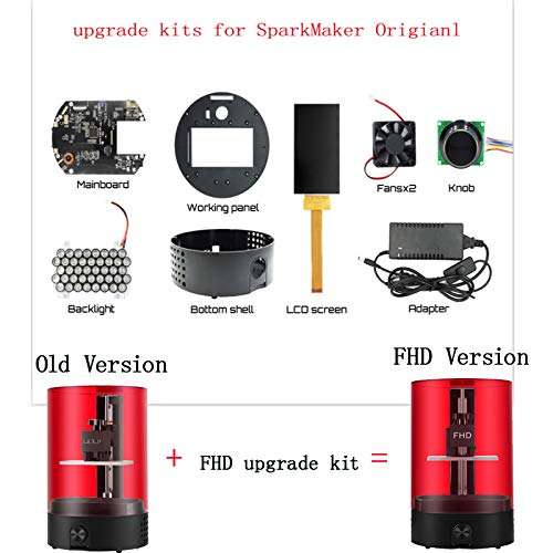 Wunderkerzenhersteller FHD Upgrade Kit für den ersten hochpräzisen Desktop-SLA-DLP-LCD-3D-Drucker 3D-Drucker Fhd Lcd