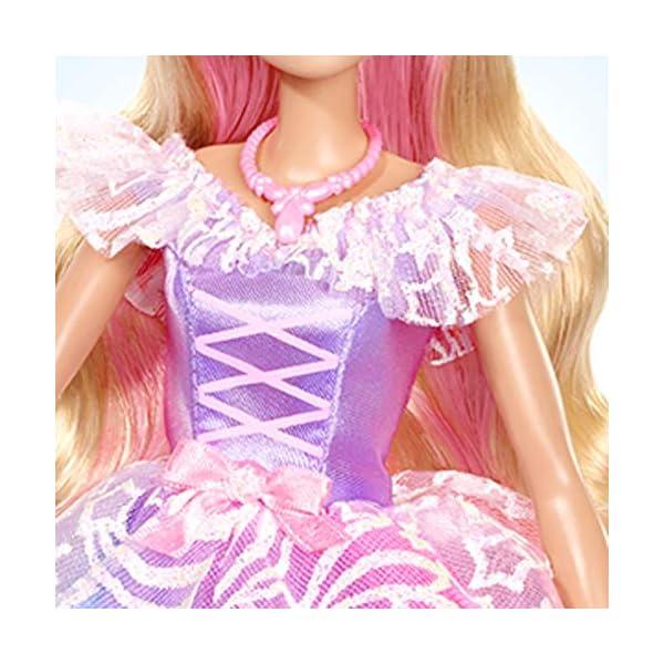 Barbie Dreamtopia Principessa Gran Galà Bambola con Accessori, Giocattolo per Bambini 3+ Anni, GFR45 3 spesavip