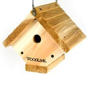 Woodlink Traditional Wren House - Natural Cedar Bird House Garden, Haus, Garten, Rasen, Wartung