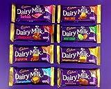 Irish Cadbury Dairy Milk Chocolate 8 Pack - Dairy Milk,...