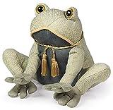 Questo elegante fermaporta Toad è realizzato in tessuto broccato grigio con rifiniture in seta. Altezza 20cm. Il grigio si adatta a molti dipinti circonda. È nominato principe e i vostri arredi sarà baciata non annientato. Peso 1.5kg