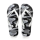 Havaianas Top Camu, Infradito Uomo, Multicolore (Steel Grey/White 1077), 45/46 EU