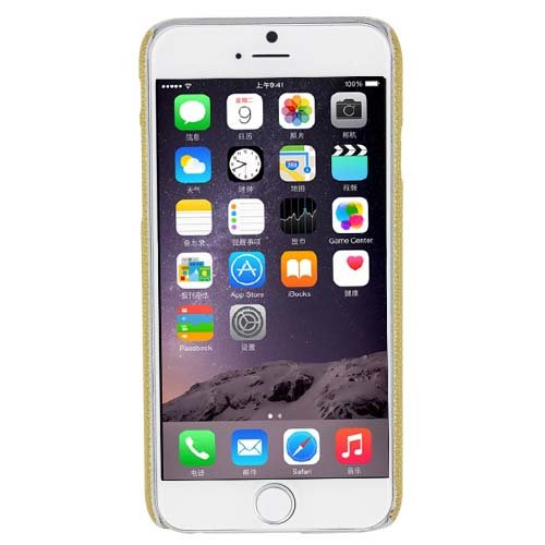 "Coque iPhone 6 (4,7 "") effet peau de serpent avec coque de protection peau de serpent, or (Multicolore) - LX-1000028 or"