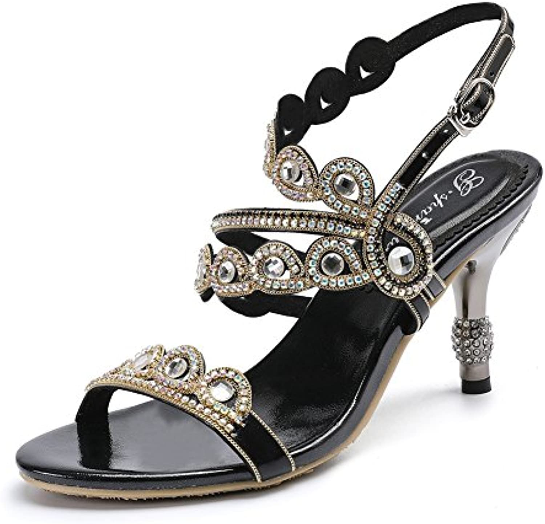 femmes groupe zpl zpl zpl mi talon sandales b07ctq62lw diaFemmete soir bal nuptial parent. 7add23