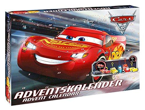 Disney- Cars Calendrier de l'Avent, 57361