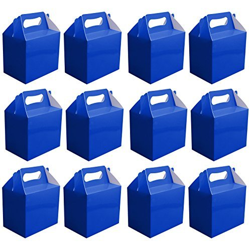 value-pack-12-x-choose-your-colour-paper-lunch-going-home-present-picnic-boxes-blue