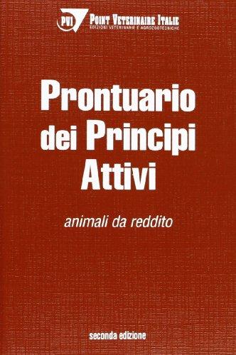 Prontuario dei principi attivi: animali da reddito