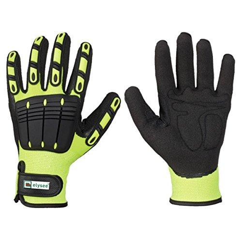 feuerwehrhandschuhe seiz thl Handschuhe gelb Feuerwehr Rettungsdienst TOP Grip Feuerwehrhandschuhe THW Gr. 10 / XL