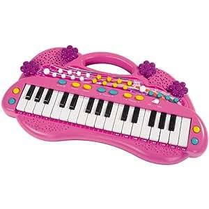 Simba fille piano clavier 32 touches jouet kinderkeybord rose neuf