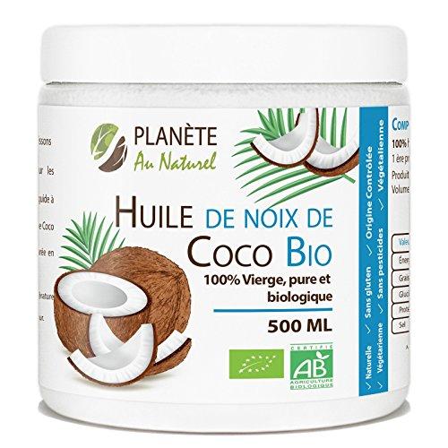 Acheter huile de coco pour cheveux