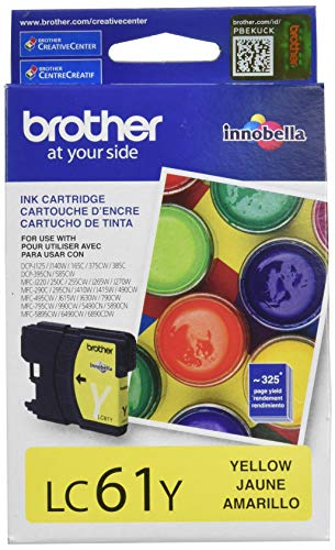 Brother LC61 Tintenpatrone gelb gelb - Lc61 Brother Tintenpatronen