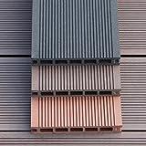 Wpc parkette/holzbrett/balkon,bad,anti-schleudern,garten,diy wood parkette/stitching outdoor parkette-A