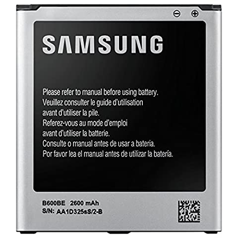 GENUINE 100% Origianl SAMSUNG GALAXY S4 BATTERIA EB B600 BE (2600 mAh)