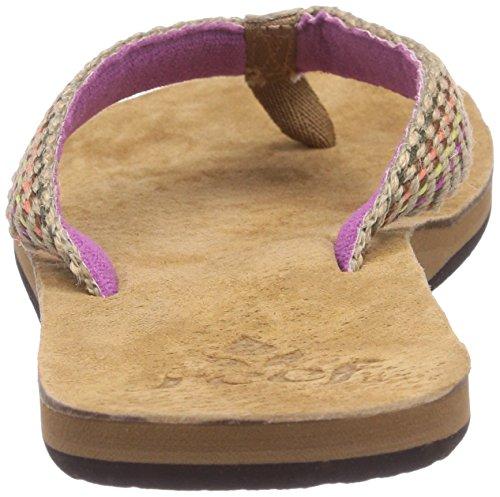 Reef Gypsy Love, Tongs femme Multicolore (Purple/Multi)