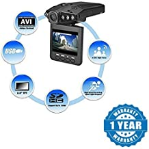 Drumstone Portable 2.5-Inch HD Car Vehicle Safety Backup DVR Road Dash Video Camera Recorder Traffic Dashboard Camcorder Works with all Android or Iphone Devices (1 Year Warranty, Color May Vary)