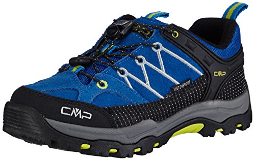 CMP Rigel Jungen Trekking- & Wanderhalbschuhe Türkis (CHINA BLUE L694)