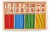 #3: Sn Toy Zone Wooden Intelligence Sticks Education Building Blocks Montessori Mathematical(Intelligent Calculation Sticks)