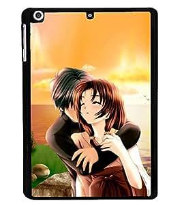 ifasho Designer Back Case Cover for Apple iPad Mini Wifi :: Apple iPad Mini Wifi + Cellular (7.9 Inches) (Cartoon Love Sketchstar Distortion Put-On)