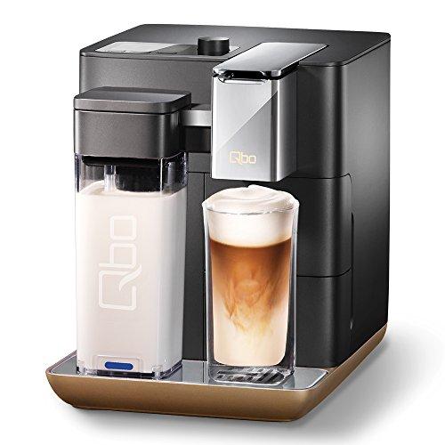 Qbo You-Rista - Kaffee Kapselmaschine Ultimate Black + Milkmaster