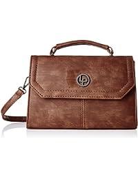 Lino Perros Men's Sling Bag (Brown)
