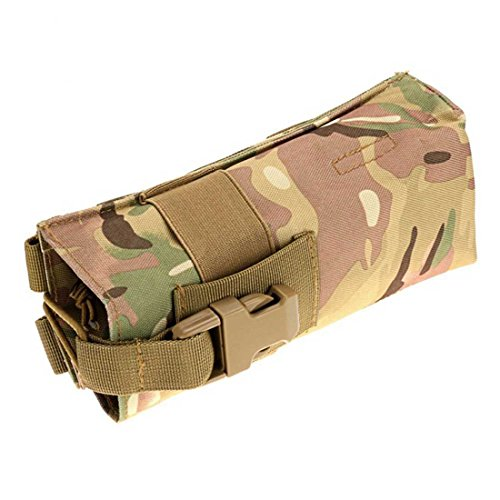 ruifu Outdoor Multifunktions Wasserkocher Tasche MOLLE Wasser Flasche Tasche 600D Tactical Hydration CP