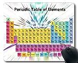 Almohadillas para ratón, Alfombrilla de ratón de Tabla periódica, Profesionales de la química, Alfombrilla Grande de Goma Gruesa