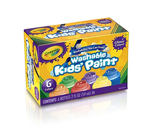 Crayola Washable Kids Paint 2oz 6/Pkg