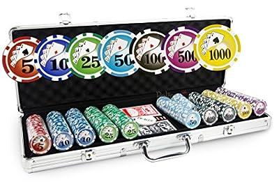 Malette Poker Royal Flush 500 jetons