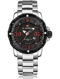 9883b7f7cf21 NAVIFORCE Men Top Luxury Brand Hot Design Military Sports Men Digital Quartz  Men Full Steel Watch