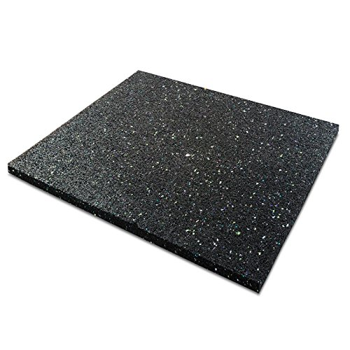 casa pura Anti-Vibration Pad | Rubber Vibration Isolator Mat | Matting for Washing Machines, Washers, Dryers and Appliances | Available in 6 Sizes | 24x40x0.8
